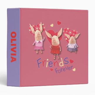 Olivia - Friends Forever Binder