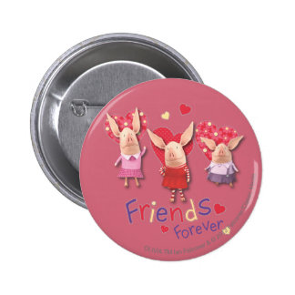 Olivia - Friends Forever Button