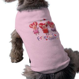 Olivia - Friends Forever Dog T Shirt