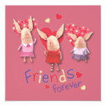 Olivia - Friends Forever Invitation