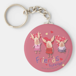 Olivia - Friends Forever Keychain