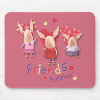 Olivia - Friends Forever Mouse Pad