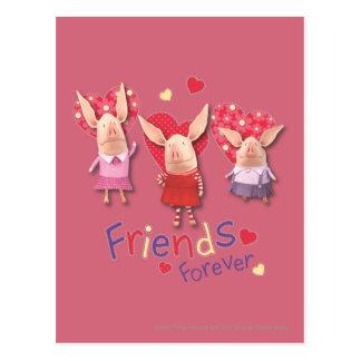 Olivia - Friends Forever Postcard