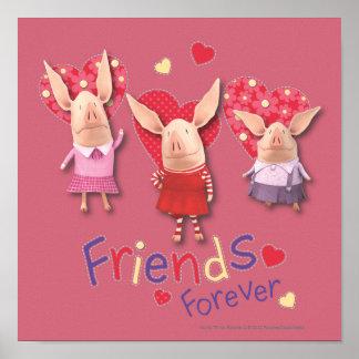 Olivia - Friends Forever Poster