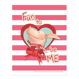 Olivia - Fun to be Me Postcard