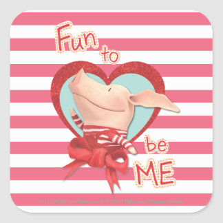 Olivia - Fun to be Me Square Sticker
