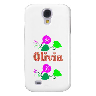 OLIVIA  Girl Name Text Galaxy S4 Covers