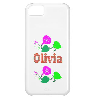 OLIVIA Girl Name Text Cover For iPhone 5C