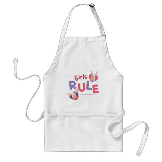Olivia - Girls Rule Adult Apron
