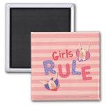 Olivia - Girls Rule Fridge Magnets