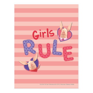 Olivia - Girls Rule Postcard