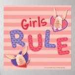 Olivia - Girls Rule Poster