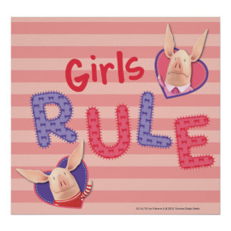 Olivia - Girls Rule Poster