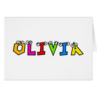 Olivia Greeting Cards