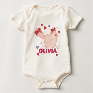 Olivia - Hearts Baby Bodysuit