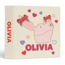Olivia - Hearts Binder
