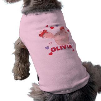 Olivia - Hearts Pet Tee Shirt