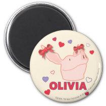 Olivia - Hearts Magnet