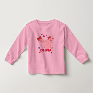 Olivia - Hearts Toddler T-shirt