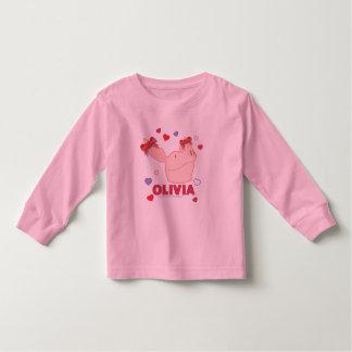 Olivia - Hearts T-shirts