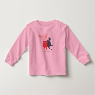 Olivia Holding Edwin the Cat Toddler T-shirt