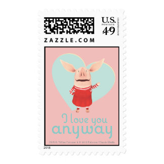 Olivia - I Love You Anyway Postage
