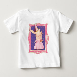 Olivia in Pink Frame Baby T-Shirt
