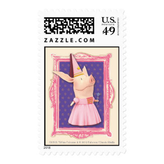 Olivia in Pink Frame Postage