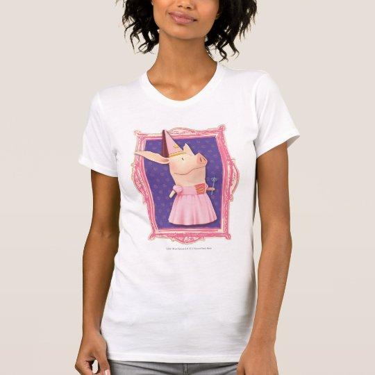 Olivia in Pink Frame T-Shirt