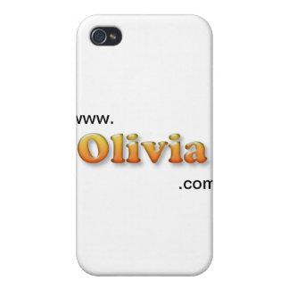 Olivia iPhone 4/4S Carcasas