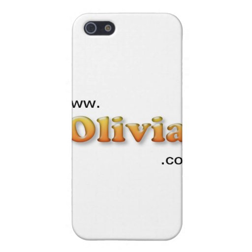 Olivia iPhone 5 Protectores