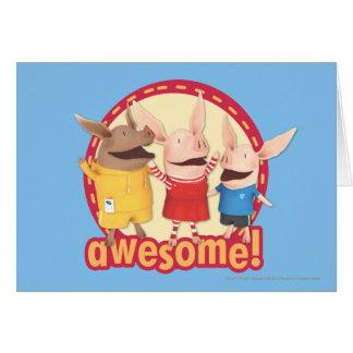 Olivia, Julian, Ian - Awesome! Card