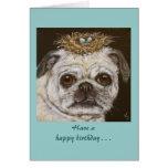 Olivia la tarjeta de cumpleaños divertida del barr