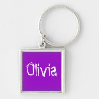 Olivia Llavero Cuadrado Plateado