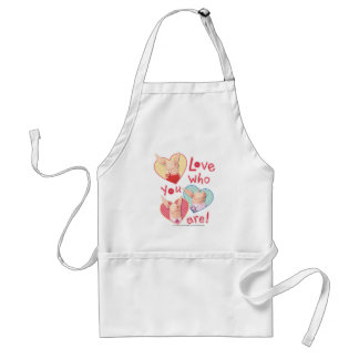 Olivia - Love Who You Are Adult Apron