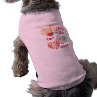 Olivia - Love Who You Are Doggie T-shirt