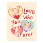 Olivia - Love Who You Are Postcard