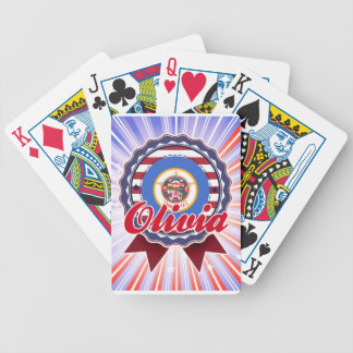 Olivia, MN Bicycle Playing Cards