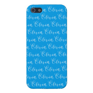 Olivia - Modern Calligraphy Name Design Cover For iPhone SE/5/5s