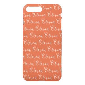 Olivia - Modern Calligraphy Name Design iPhone 8 Plus/7 Plus Case