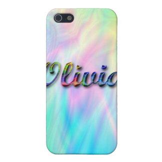 Olivia_Name Speck Case