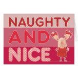 Olivia - Naughty and Nice Card