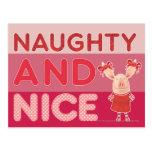 Olivia - Naughty and Nice Postcards