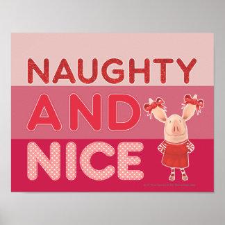 Olivia - Naughty and Nice Poster