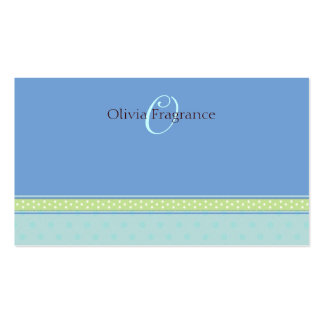 Olivia 'O' Business Cards