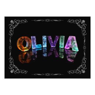Olivia - Olivia conocida en las luces 3D (fotograf Fotografías