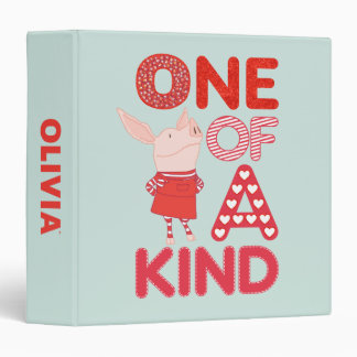 Olivia - One of a Kind 3 Ring Binders