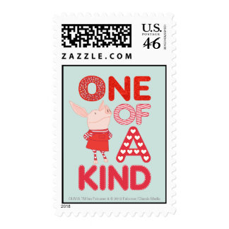 Olivia - One of a Kind Postage Stamps