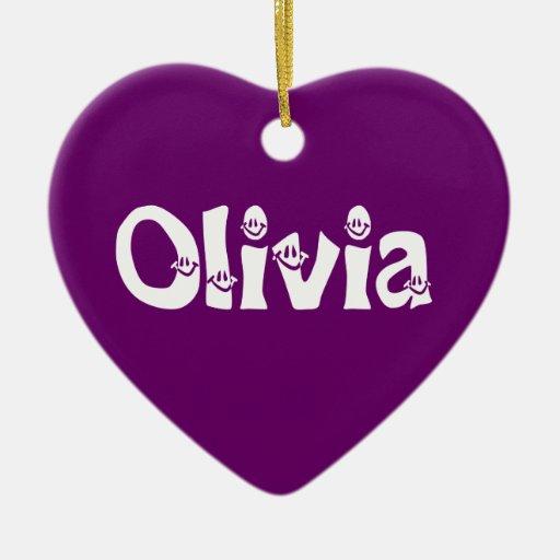 Olivia Ornament