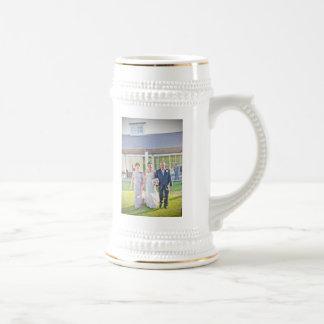 Olivia & Patrick's Wedding Stein Mug